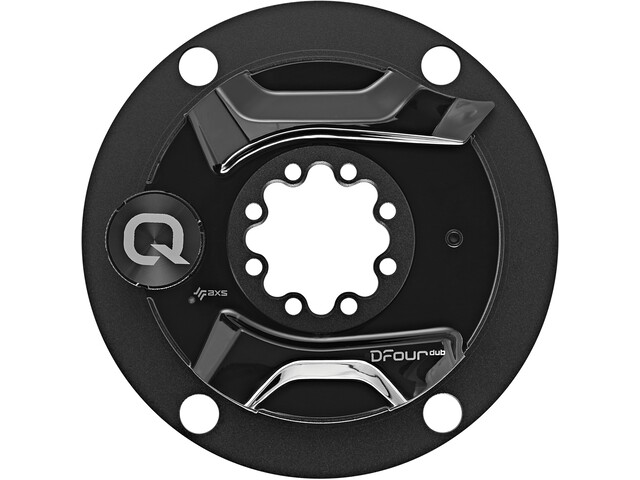 Quarq Spider/Powermeter 8-bouts 10/11-speed 110mm voor Dfour DUB, black